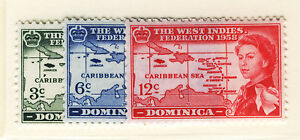 DOMINICA-1958-CARIBBEAN-FEDERATION-MNH