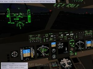 Analytique New Flight Gear Simulator 2011 2013 For Ms Microsoft Windows Software 100% D'Origine