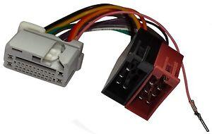 Adaptateur-faisceau-cable-ISO-autoradio-pour-Citroen-C-Crosser-Peugeot-4007