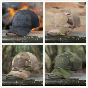 4-Colors-Multicam-Camo-Outdoor-Tactical-Cap-Military-Hunting-Hiking-Baseball-Hat