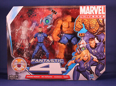 ,Mr.Fantastic,HERBIE,Thing Marvel UNIVERSE Fantastic 4 Invisible Woman VARIANT