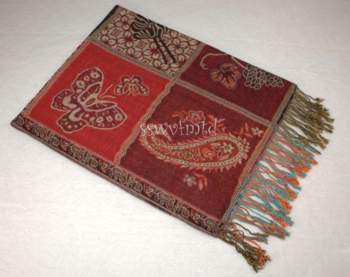 Pashmina Silk Floral Design Super Soft Fashion Scarf Shawl Wrap Animal Print