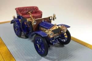 Ilario 100 - Rolls Royce 10hp 1904 Sn200154 voiture actuelle bleu 1/43