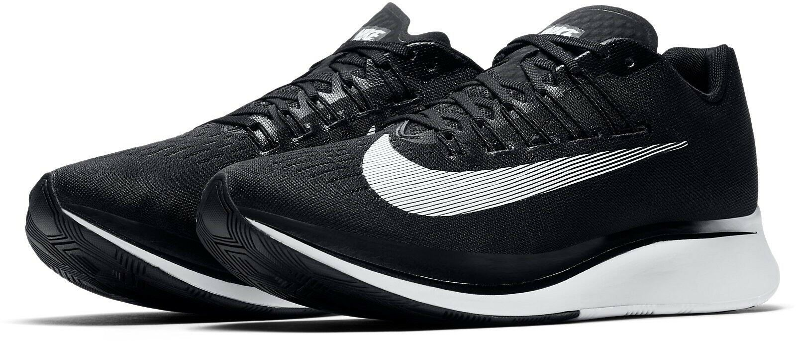 Brand New WMNS Nike Zoom Fly 897821-001 Black White Size 5