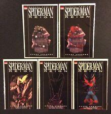 SPIDER-MAN REIGN #1 - 4 Comic Books FULL SERIES Marvel 2007 Kaare Andrews VF-NM