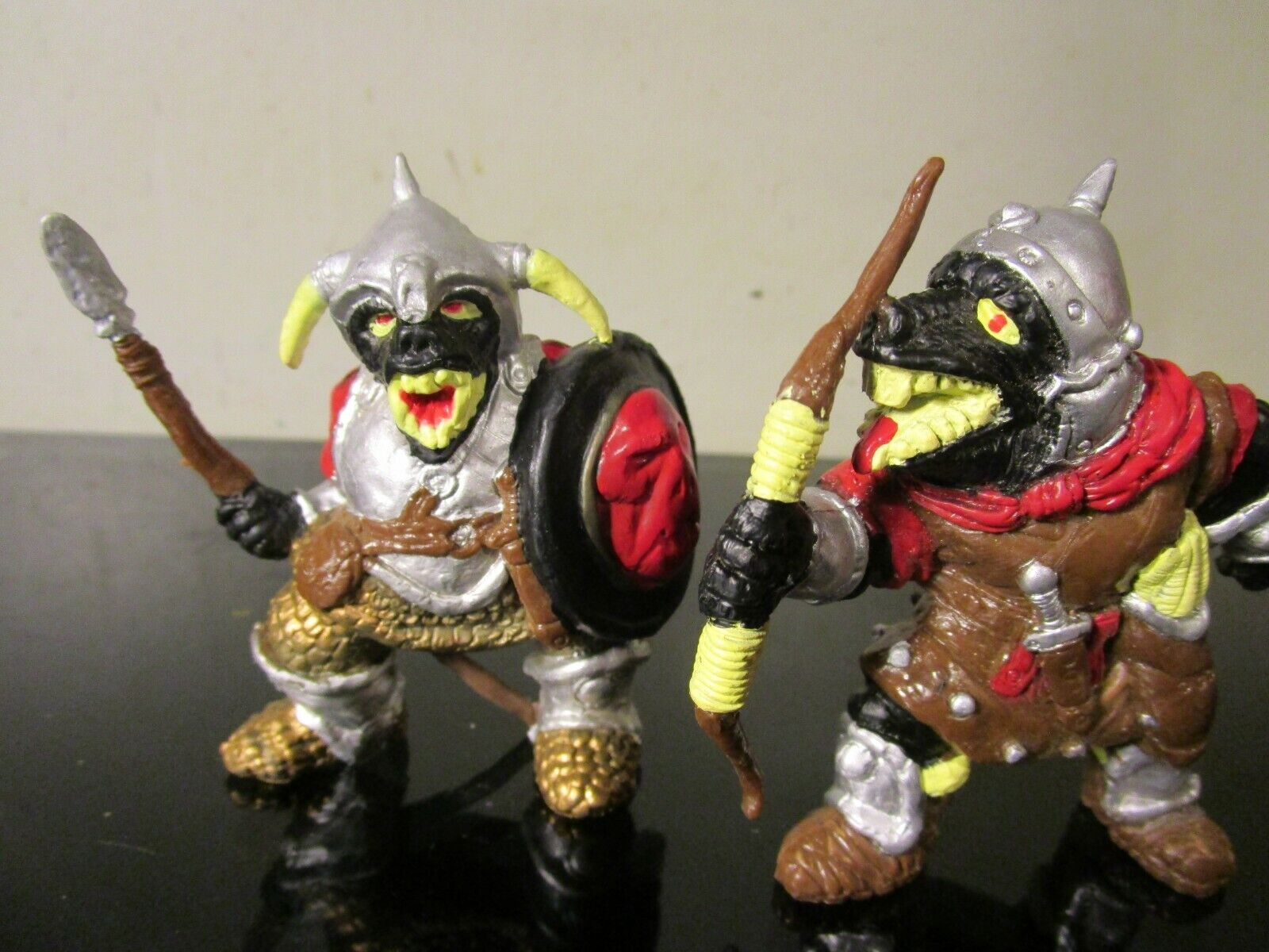 LJN Advanced Dungeons And Dragons Action Figures Orcs Of the Broken Bone