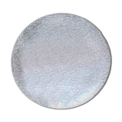 Reflektor zum Aufnähen für Kleidung Kreis 4 cm Durchmesser
