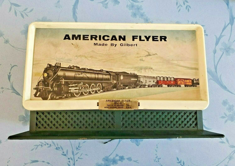 Gilbert American Flyer 23568 vapor silbar Billboard con 23568 Caja Original