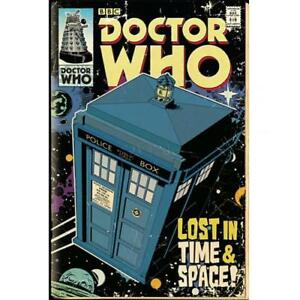 Doctor-Who-WALL-Poster-Tardis-222-DECORATION-BOYS-PARTY-Birthday-Present-Gift
