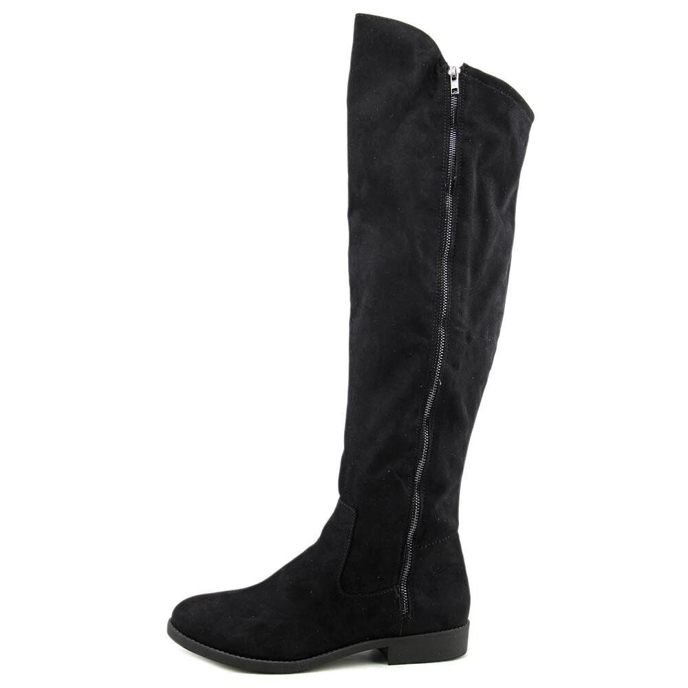Style & & & Co Hadleyy Women Over The Knee Boots (6 M, Black) fbe5f1