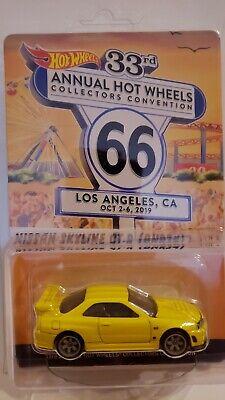 hot wheels 2019 33rd convencion amarillo nissan skyline gt r bnr34 4064 5000 ebay hot wheels 2019 33rd convencion