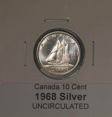 UNCIRCULATED from original mint roll 1969 Canada Quarter