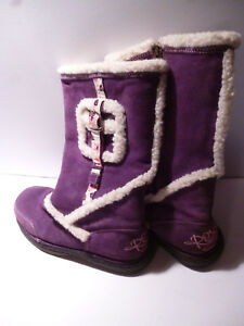 4 Eur Roxy Stylish 37 Uk Zipped Boots Purple Womens r7qr0Yz