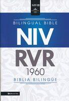 Spanish/english Bible Rvr 1960/niv, Bilingual, Black Hardcover Parallel F/s