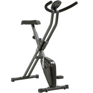 Bicicleta-Estatica-Plegable-Tipo-X-Entrenamiento-Fitness-Cardio-Exposicion