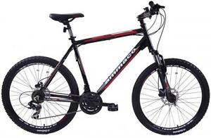 AMMACO-ALPINE-COMP-ALLOY-FRONT-SUSPENSION-BIKE-23-034-FRAME-DISC-BRAKES-21-SPEED