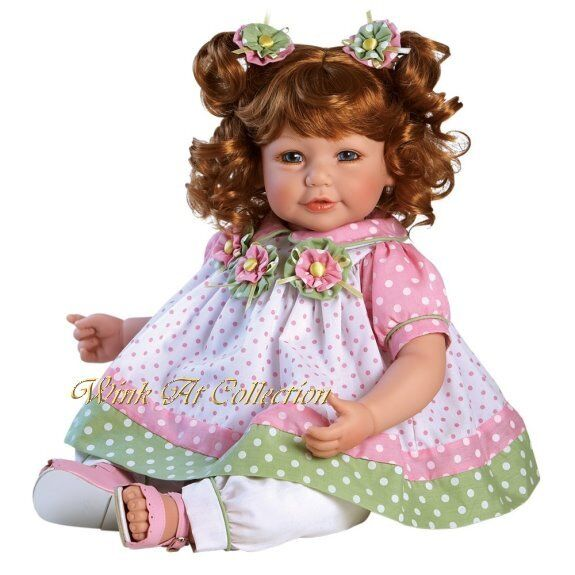 Adora Charisma Baby Doll  Tutti Fruity  rot Hair Blau Eyes