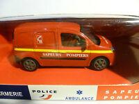 Renault Kangoo De Pompiers Neuf