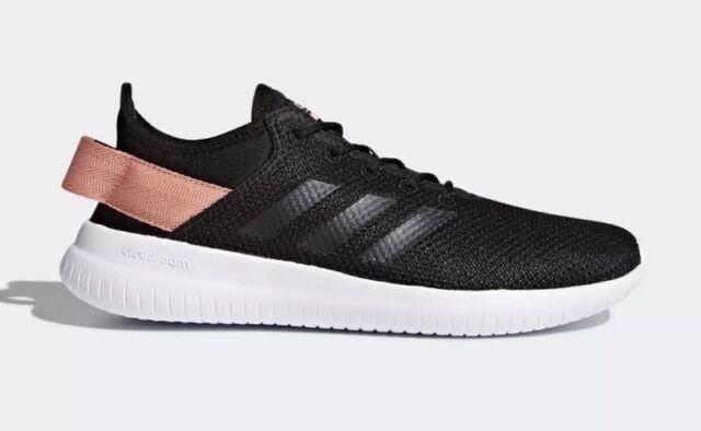 ea29401ac81 adidas Sz 10 Black Pink Cloudfoam QT Flex Shoes SNEAKERS Women s for ...