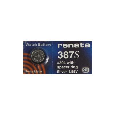 Battery BULOVA ACCUTRON Calibers 214////218 Tuning Fork 387 1-ENERGIZER # 387S
