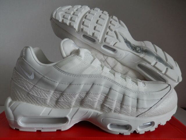 f578bebaf7d04 Mens Nike Air Max 95 PRM 538416-100 Summit White Size 15 for sale ...