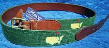 MASTERS Size 42 Smathers & Branson needlepoint belt 42 FITS 40 RARE Awesome Gift