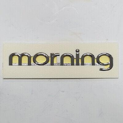 Kia Picanto Morning 2006-2007 OEM GENUINE Front grille KIA Emblem 863101G100