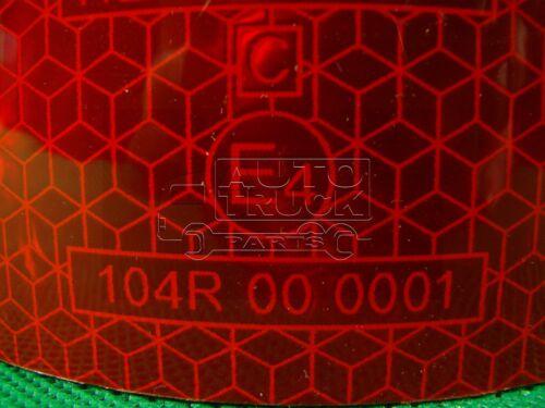 5 Mtr Reflexfolie Reflektorfolie Konturmarkierung Reflexband Warnfolie Farbe ROT