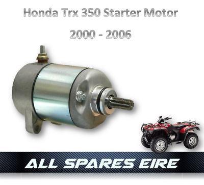 Starter Motor for Honda 350 Fourtrax Rancher TRX350FE TRX350FM TRX350TE TRX350TM 2000-2006 ATV UTV Replaces 31200-HN5-671 31200-HN5-A81