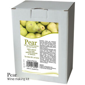 Pear-Wine-Making-Kit-20-L-of-White-Wine-Home-Brew