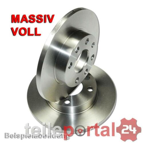 2x Bremsscheibe Bremsen Scheiben PR 1LA Transporter T4 Vorne Vorderachse Ø260mm