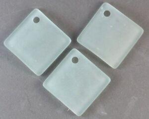 'marin' Verre Plage 22mm Bouteille Courbe Diamant Seafoam Vert Bleu Perles (8) Uvuzz8gk-08000836-702523052