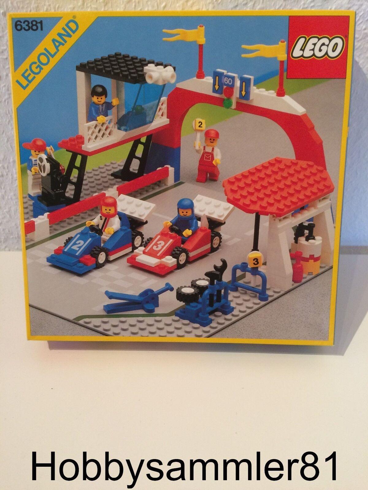 Lego® 6381 Legoland Motor Speedway   Neu und OVP