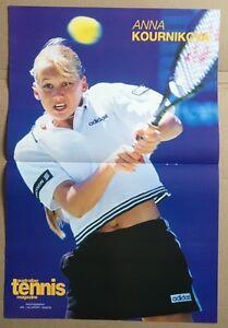 ANNA-KOURNIKOVA-Original-Vintage-Australian-Tennis-Magazine-Poster