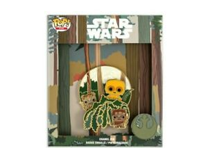 """Loungefly Funko Star Wars May The 4th Endor Scene Pop Pin 3"""" LE 500 Sold Out"""