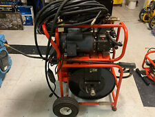 General Pipe Cleaners J 1600 Jet Set 1 12 Hp 1500 Psi Electric Drain Cleaner