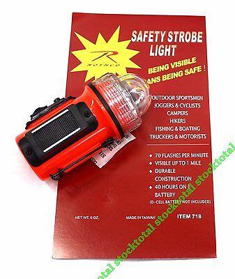 ESTROBOSCOPIO Rothco Emergency Strobe Light 718 RT