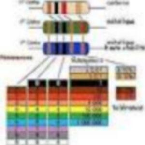 resistance-carbonne-1-4-watts-5-lot-de-10-resistances-220-k-ohm-a-10-M-ohm