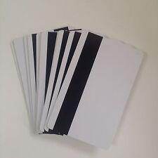 10pcs Blank Hico 3 Magnetic Stripe Plastic Credit Card 30Mil Inkjet Printable