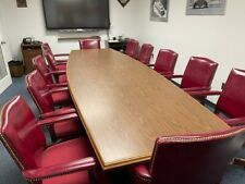 12 Conference Room Chairs Table Not Included