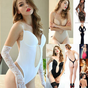 7158caf61e2 Backless Push Up Bra Deep Plunge Thong Body Shaper For Wedding ...