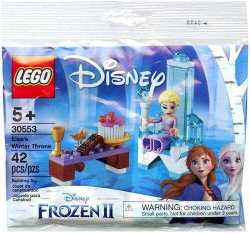LEGO DISNEY 30553 Frozen 2 ELSA/'S WINTER THRONE 1 New and Sealed BNIP
