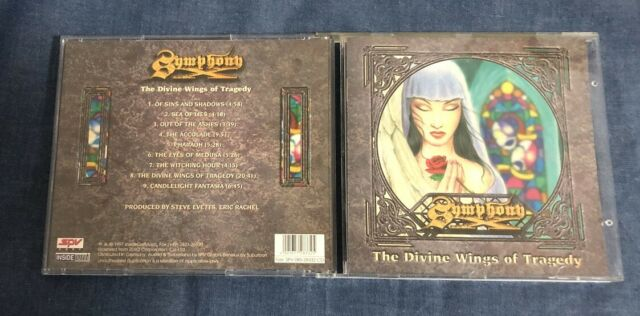 CD  Symphony X – The Divine Wings Of Tragedy 1997 Inside Out Music IOMCD 009 DE
