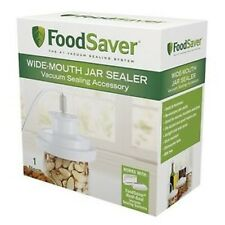 FoodSaver Wide-Mouth Jar Sealer T03-0023-01, New For Wide Mouth Pint Quart & Gal