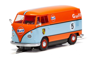 Scalextric-C4060-VOLKWAGEN-Panel-Van-Gulf-EDITION-1-32-scale