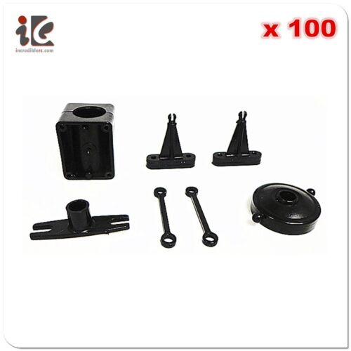 NOSE TAIL TUBE FIXED DOUBLE HORSE DH 9053 RC HELICOPTER SPARE 100 SETS