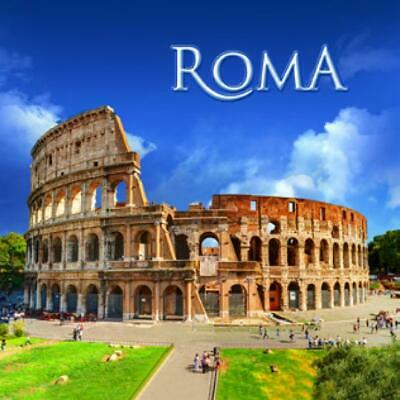 Sanft Rom Colosseum Foto Magnet Epoxid Italien Italy Souvenir,8x8 Cm,neu