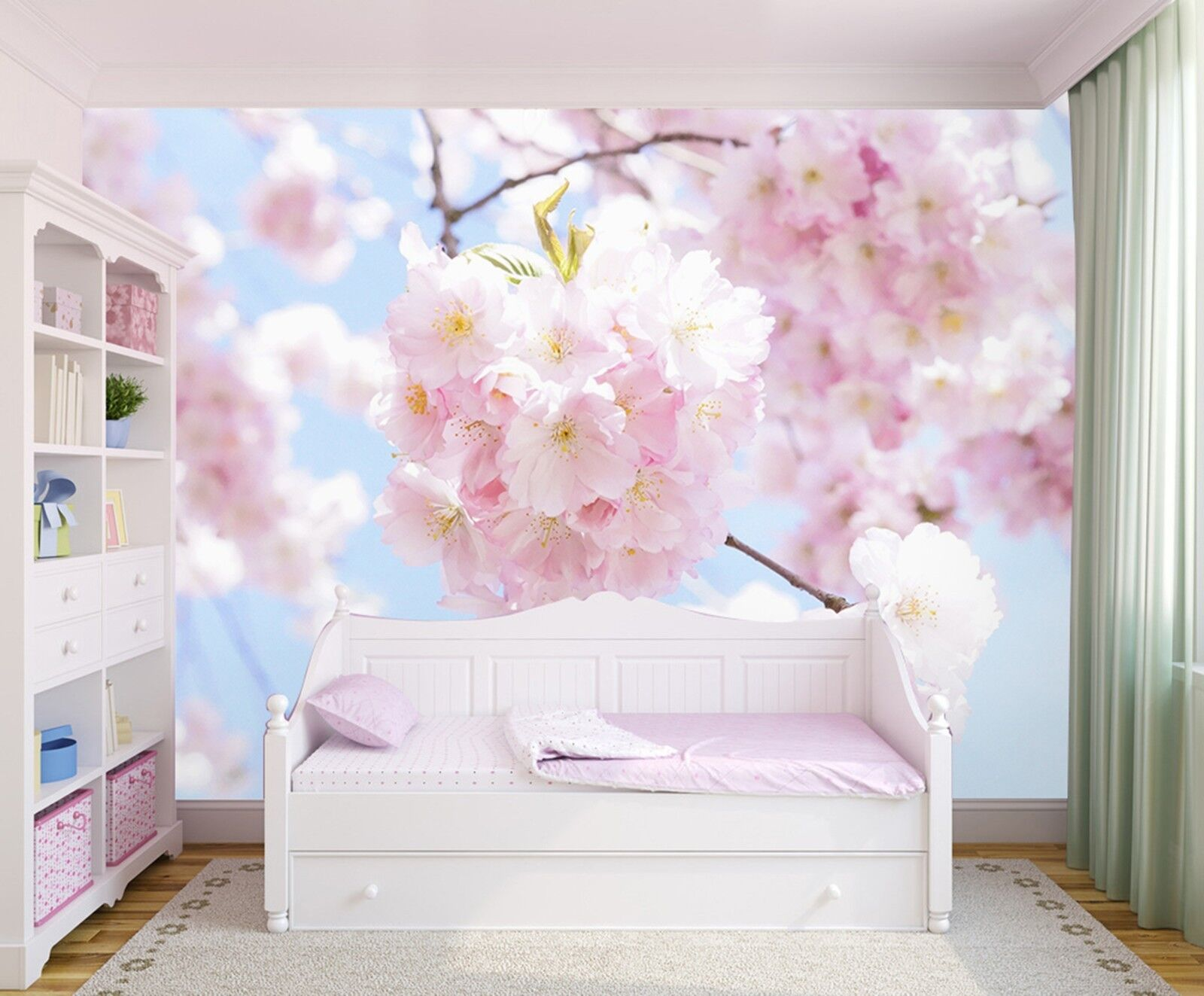 3D Rosa Pfirsich Frühling 8757 Tapete Wandgemälde Wandgemälde Wandgemälde Tapeten Bild Familie DE Lemon | Zu verkaufen  | Sonderangebot  | Die Farbe ist sehr auffällig  0a49fa