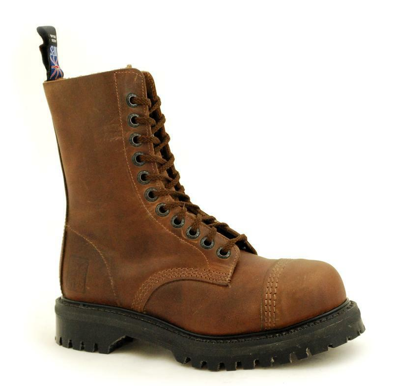 Premium Ranger NPS Made in England Gaucho 11 Eye Eye Eye Steelcap Boot NS022-X11981GAU b5e6ff