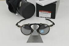 New Oakley Madman Pewter Black Iridium Polarized Sunglasses OO6019-02